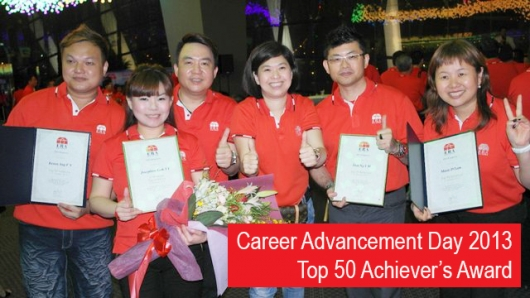 2013 Top 50 Achiever's Award